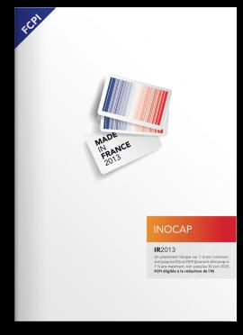 INOCAP-Brochure-FCPI MIF 2013-Agence le 6